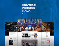 Restyling sito Universal Pictures Italia
