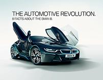 BMW i8 Infographic