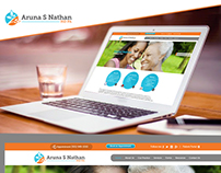 Dr. Aruna Nathan Website Design