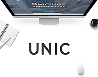 UNIC UX redesign concept