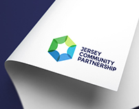 Jersey Community Partnership Branding
