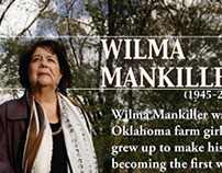 Wilma Mankiller Tulsa World Memorial Page