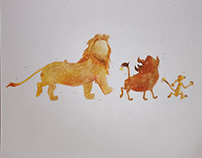 Hakuna Matata Watercolor