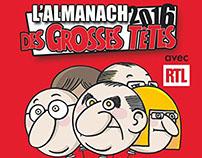 Almanach Les Grosses Têtes 2016 [LIVRE]