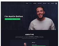 Atlas - Creative Portfolio PSD Template
