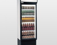 Staycold HD690 Single Glass Door Upright Bottle Cooler