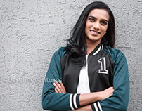 Badminton Champion PV Sindhu for Baseline Ventures