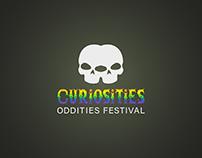 Branding for Curiosities Oddities Festival
