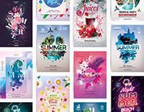 Amazing 10 Summer Flyer Template Bundle