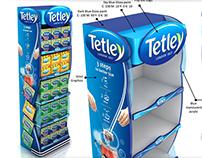 Tetley Floor Stand