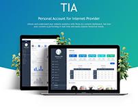 TIA Dashboard Screen