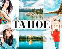Free Tahoe Mobile & Desktop Lightroom Presets