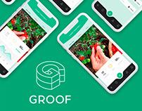 GROOF - App Concept