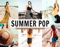 Free Summer Pop Mobile & Desktop Lightroom Presets