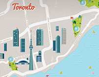 Toronto Magazine Illustration