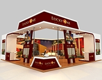 LuckyOne Stall at Abad Int'l Expo 2014