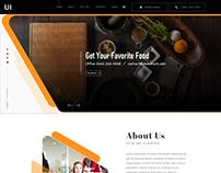2017 Trend Website Concept