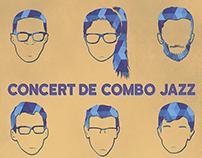 Jazz Combo Concert Poster