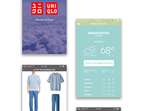 Uniqlo Weather App - Student Project