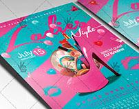 Ladies Night - Club Flyer PSD Template