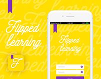 Flipped Learning App & Brand Design
