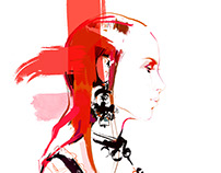 Fashion illustration_McQueen*SS17