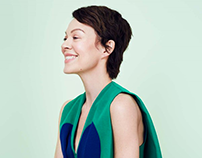 Helen McCrory by Rachell Smith for Stella Magazine