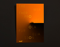 "Olafur Eliasson's ""The Weather Project"" Poster Design"
