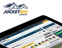 "Layout - site de apostas ""Jockey Rio"""