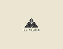 Logo design 'de zolder'