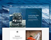 Сайт-визитка Водные Биоресурсы