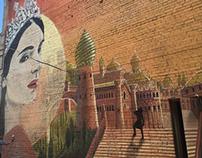 Дизайн-проект, роспись стен в Нижнем Новгороде