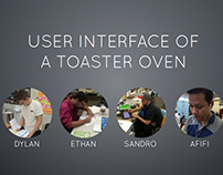 User Interface:Toaster oven
