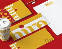 hiro - Brand Identity