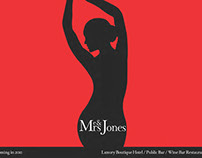 Me & Mrs Jones Boutique Hotel Branding