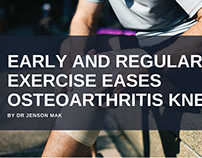 Early And Regular Exercise Eases Osteoarthritis Knee Pa
