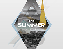 The Summer Minimal - PSD Flyer Template