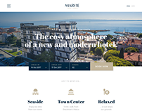 Hotel Marvie website