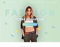Clothes Site Design