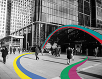 Colour Theory in Canary Wharf