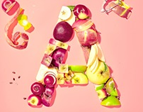 EATS - Food Typography
