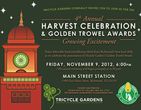 Harvest Celebration Invitations