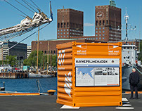 Havnepromenaden (Information Design)
