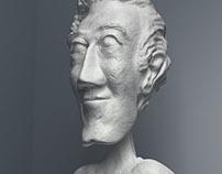 Statue Sculpting (3D Modeling)