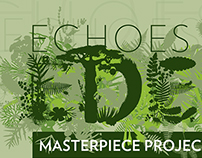 Echoes of Eden: Identity and brochure design