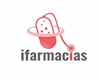 Logo Design - ifarmacias - Medical Mobile App