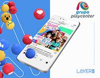 Playcenter Family - Mídias Sociais