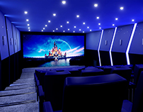 "Concept of cinema ""Movieland"""