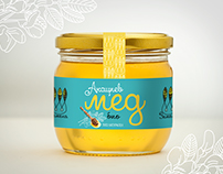 organic honey Zemela - packaging design