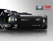 Panasonic Twin Camera Camcorder Radio Ad